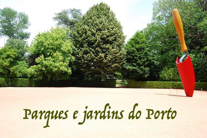 parques jardins porto