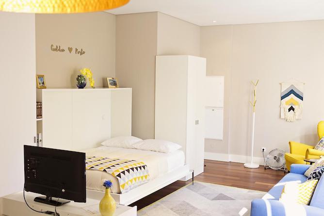 quarto duplo golden cardosas apartamento porto