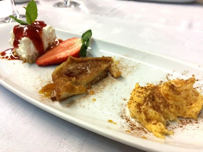 restaurant casa aleixo porto dessert