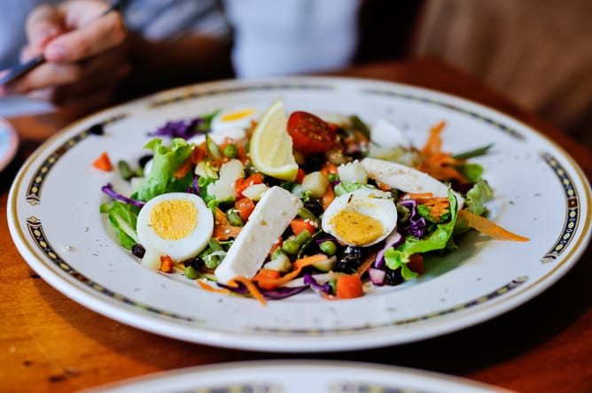restaurant comme ça porto salad