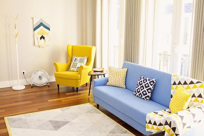 sala estar golden cardosas apartamento porto