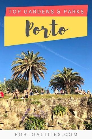 top gardens parks porto portugal