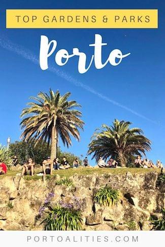 top parks gardens porto