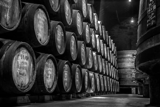 barricas envelhecimento vinho porto ruby