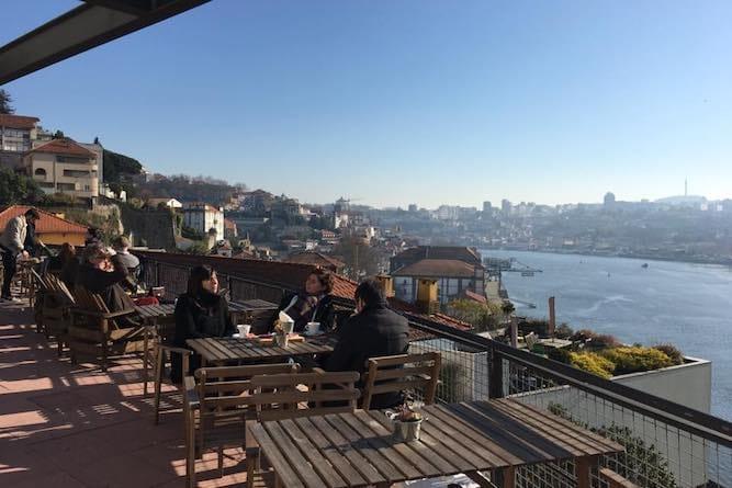 vista rio douro terraco miradouro ignez porto