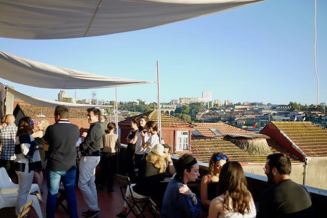 mirajazz wine bar porto sunset party