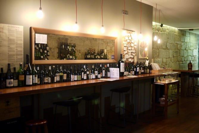 bar prova vinhos porto