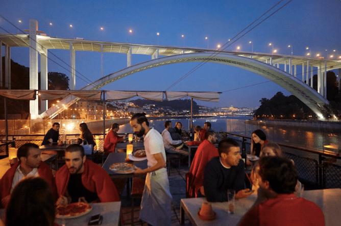 vista ponte arrabida restaurante casa doro