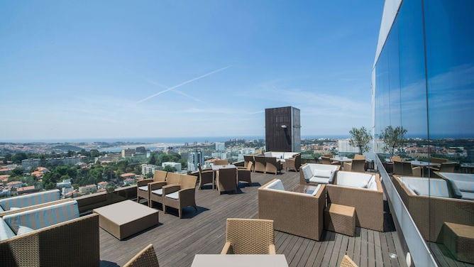 rooftop view porto palacio vip lounge