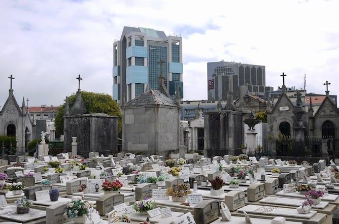 vista cemiterio agramonte porto