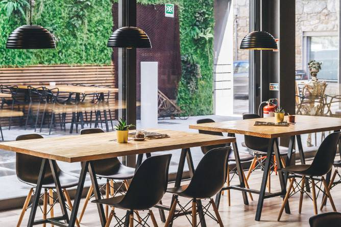 7groaster best brunch gaia interior