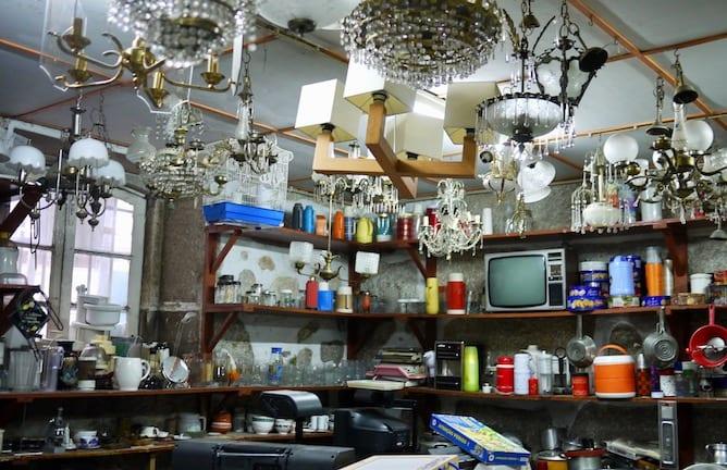 shop old kitchenware