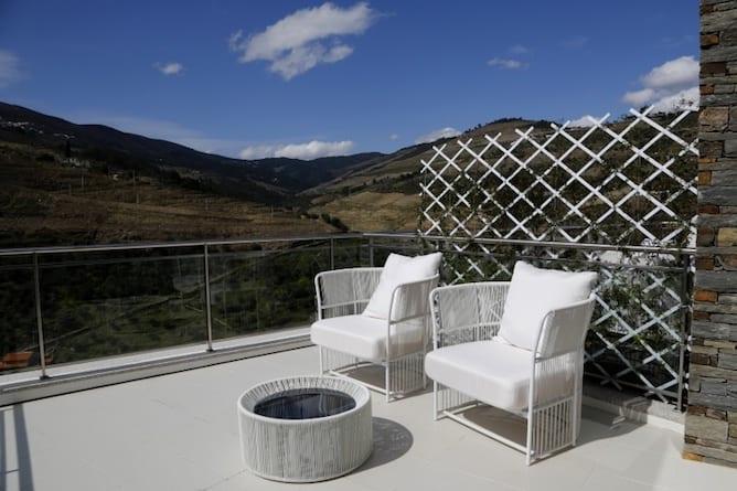 LBV house hotel pinhao douro valley sunny balcony