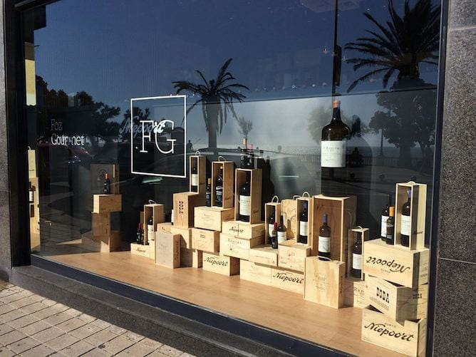 foz gourmet wine luxury store porto