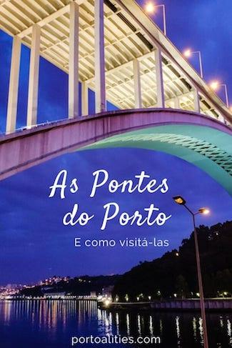 historia pontes porto portugal