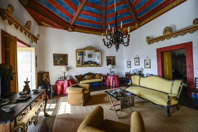 morgadia calcada country house douro valley traditional living room