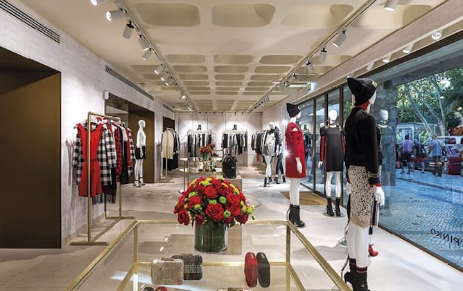 pinko luxury store porto