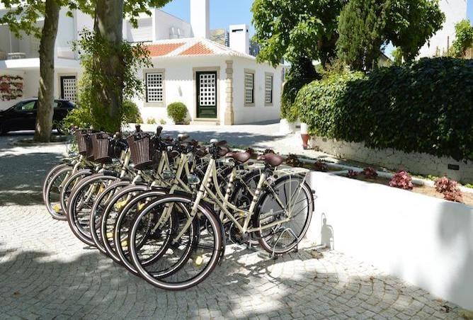 quinta pacheca douro valley- bikes dispose guest