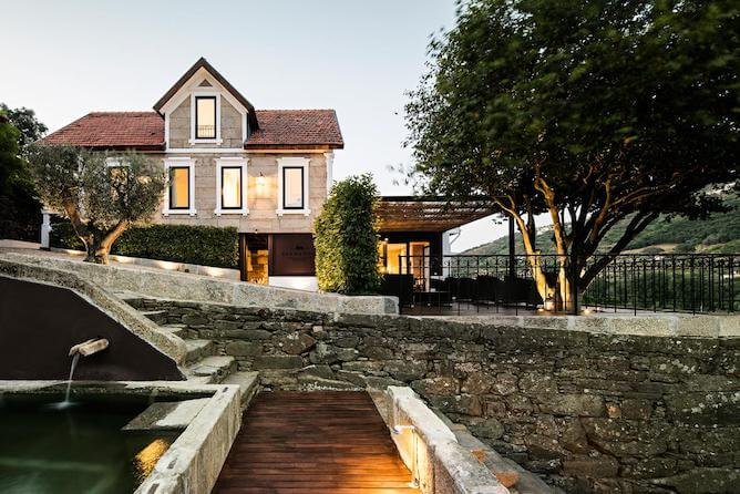 quinta sao bernardo where stay douro valley