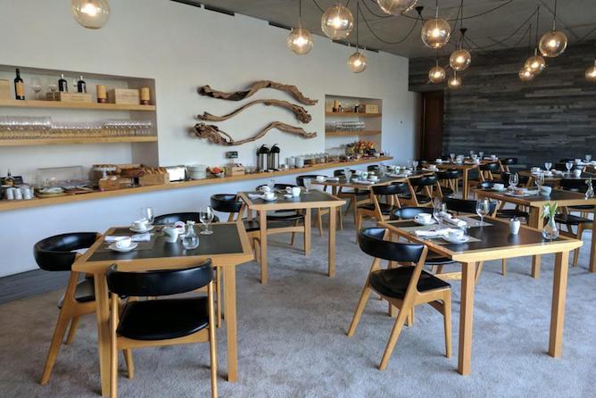 quinta vallado hotel douro breakfast room