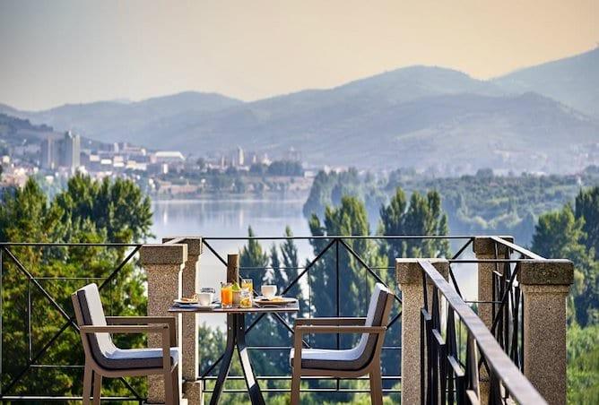 six senses douro valley breakfast served balcony