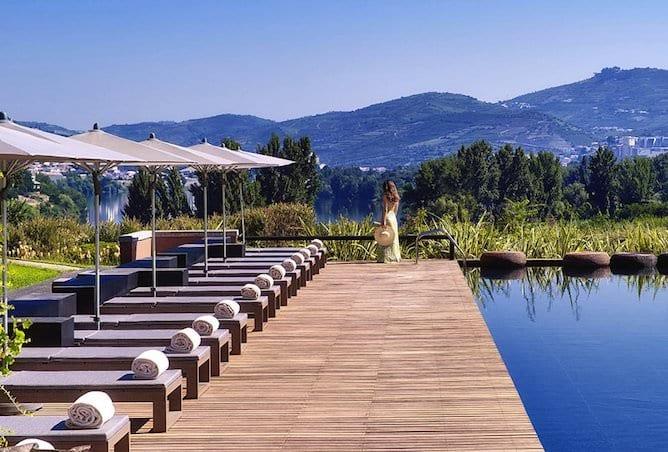 six senses douro valley swimming pool