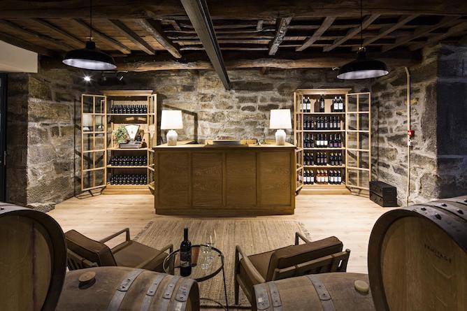 wine bar douro valley quinta sao bernardo