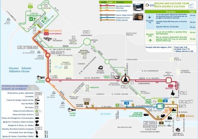 como andar autocarros porto rota douro cultura