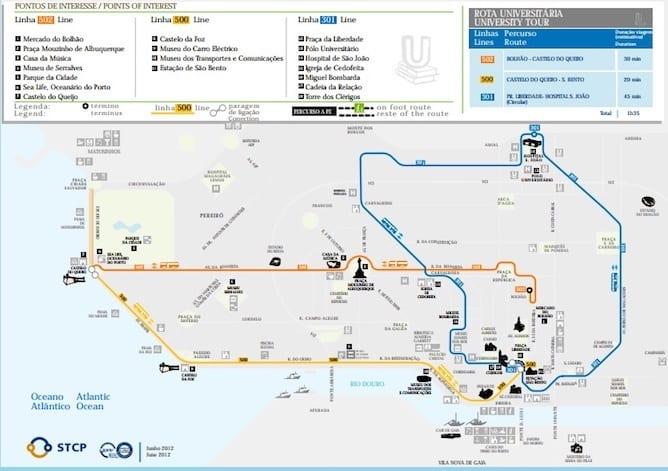 universities porto bus tour