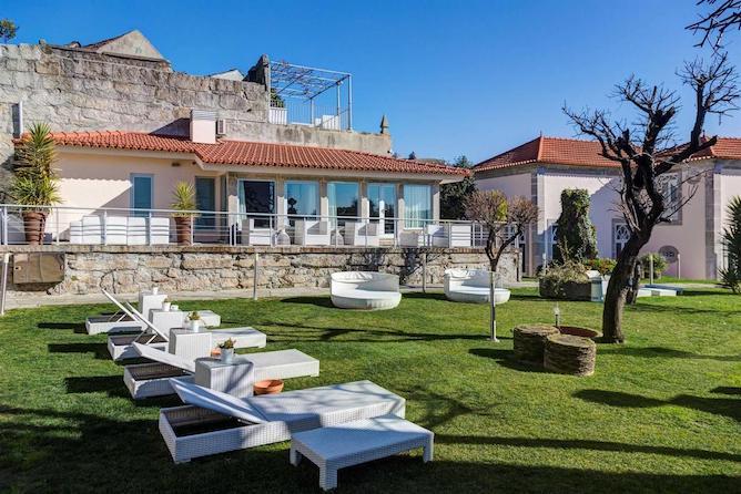 flores village spa hotel luxo porto jardim