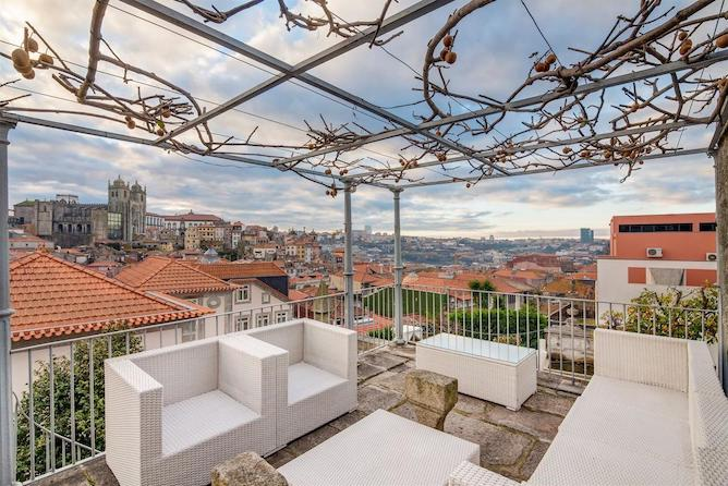 flores village spa luxury hotel porto rooftop
