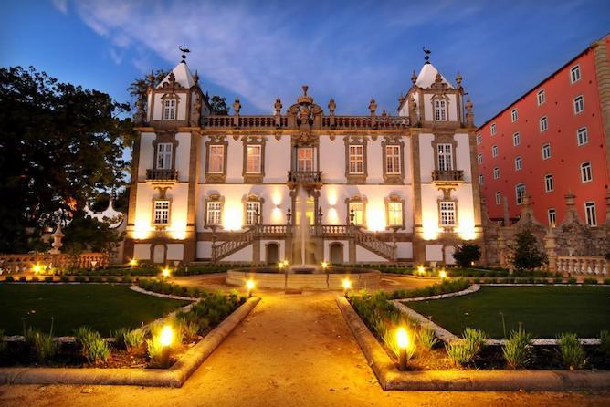 palacio freixo melhor hotel luxo porto