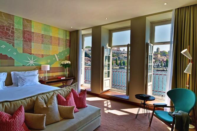 pestana vintage hotel luxo porto quarto duplo
