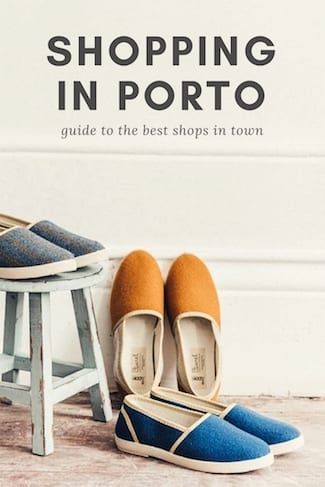 shopping in porto guide best shops