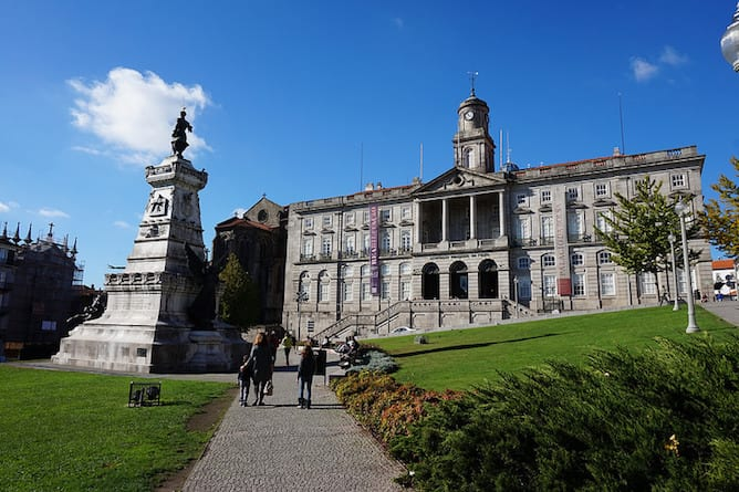 palacio bolsa igreja sao francisco porto