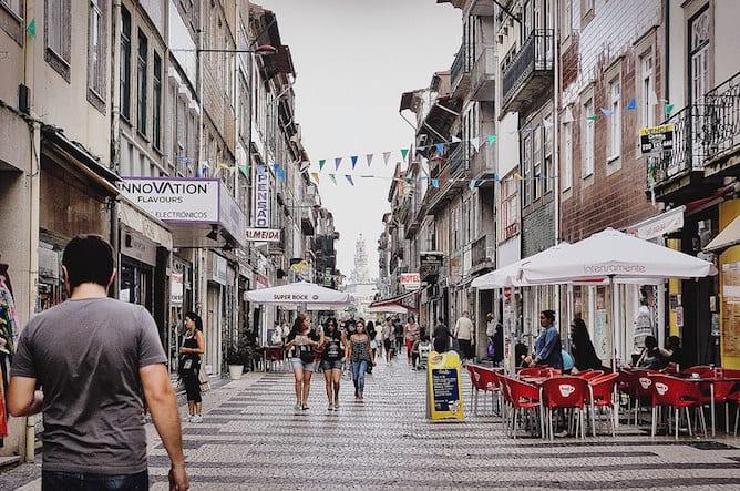 rua cedofeita rua emblematica porto