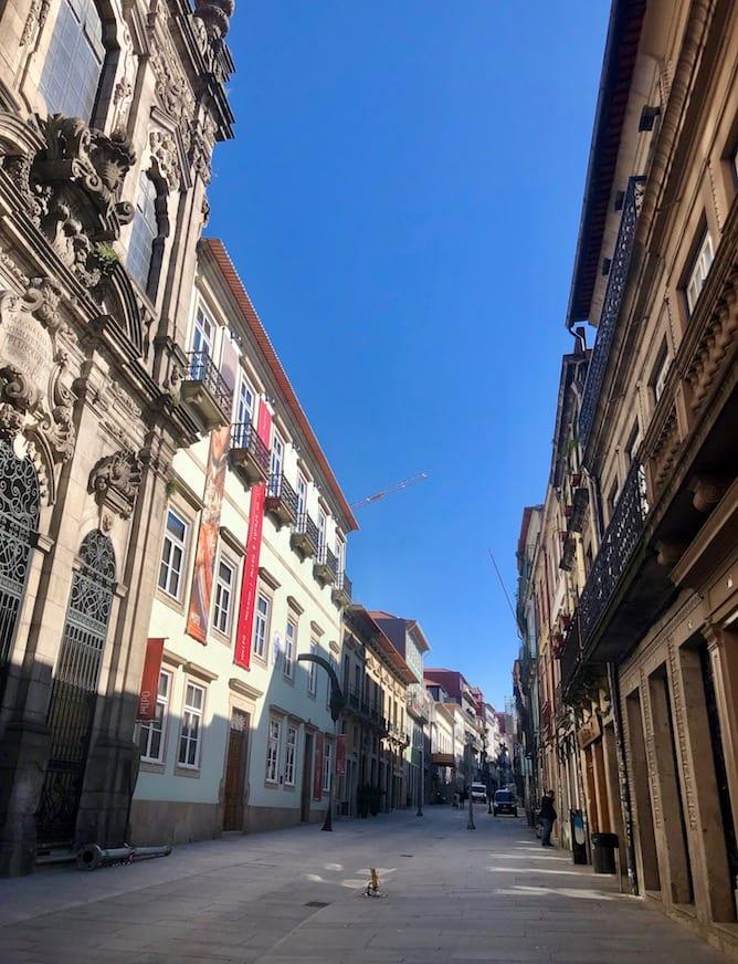 rua flores ruas emblematicas porto