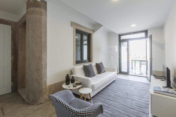 small living room apartment couples porto