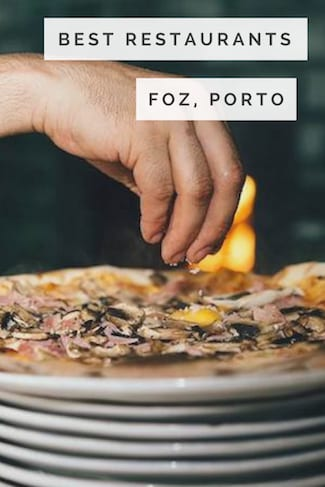 best restaurants foz porto