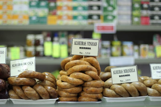 grocery stores porto prices sausages