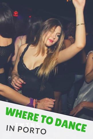 girl dancing bar porto
