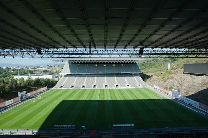 souto moura famous football stadium braga
