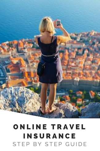step by step guide online travel insurance