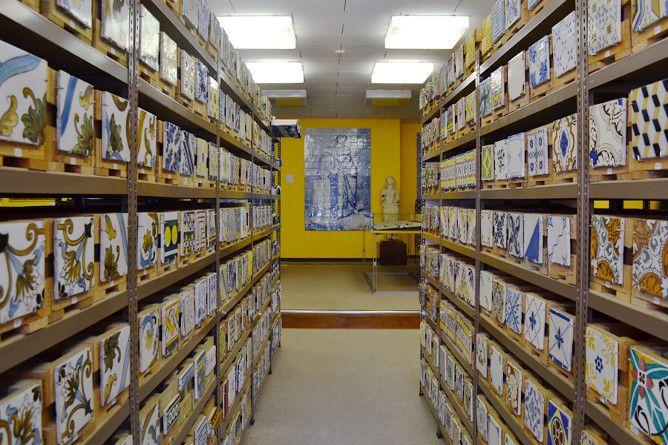 azulejos banco materiais porto