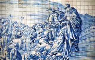 best places see azulejos tiles porto