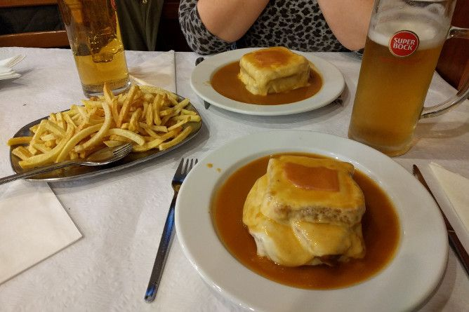 galiza beer house typical food porto