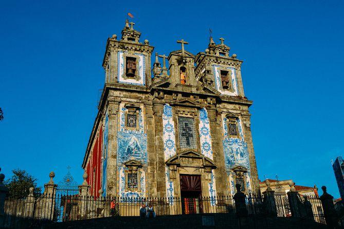 igreja santo ildefonso exterior porto