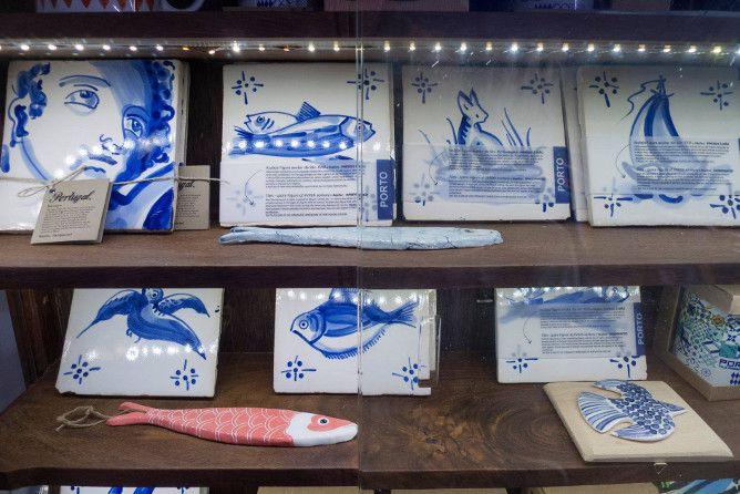 loja azulejo azul porto