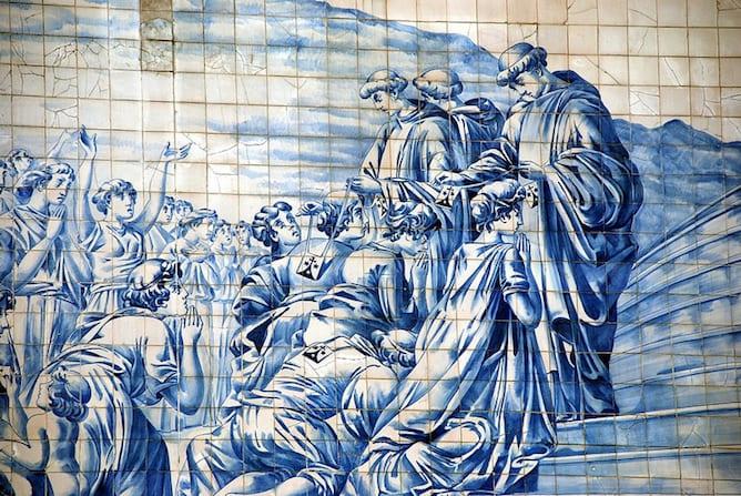 melhores exemplos para apreciar azulejos porto