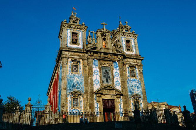 santo ildefonso church exterior porto